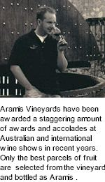http://aramisvineyards.com/ - Aramis - Tasting Notes On Australian & New Zealand wines