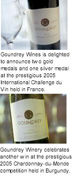 http://www.goundrey.com/ - Goundrey - Tasting Notes On Australian & New Zealand wines