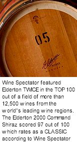 http://www.eldertonwines.com.au/ - Elderton - Tasting Notes On Australian & New Zealand wines