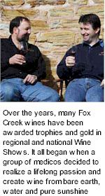 http://www.foxcreekwines.com.au/ - Fox Creek - Tasting Notes On Australian & New Zealand wines