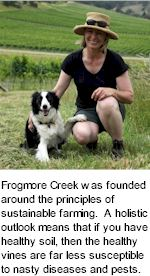 http://www.frogmorecreek.com.au/ - Frogmore Creek - Tasting Notes On Australian & New Zealand wines