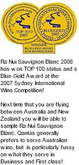 http://www.ranuiwines.co.nz/ - Ra Nui - Tasting Notes On Australian & New Zealand wines