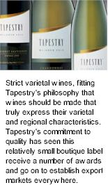 http://www.tapestrywines.com.au/ - Tapestry - Tasting Notes On Australian & New Zealand wines